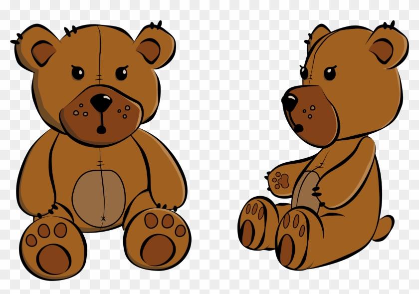 Teddy Bear Clipart Transparent - Teddy Bear Sitting Clipart #137235