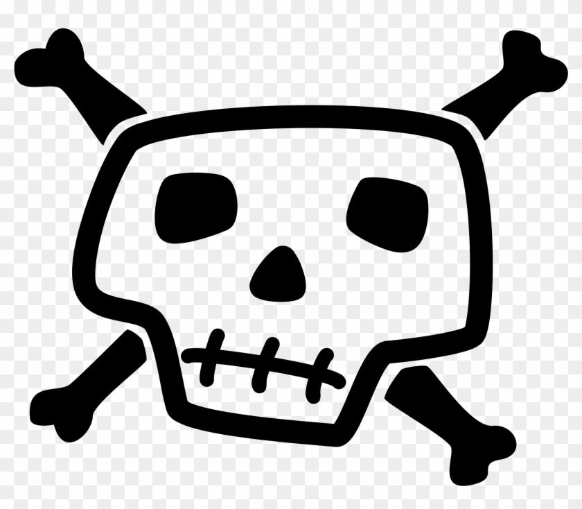 Clip Art Tags - Skull And Crossbones Clip Art #137245
