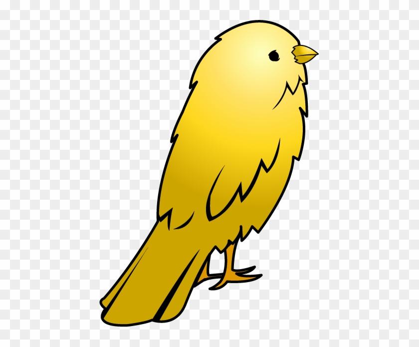 Small Bird Clipart - Yellow Bird Clipart #137413