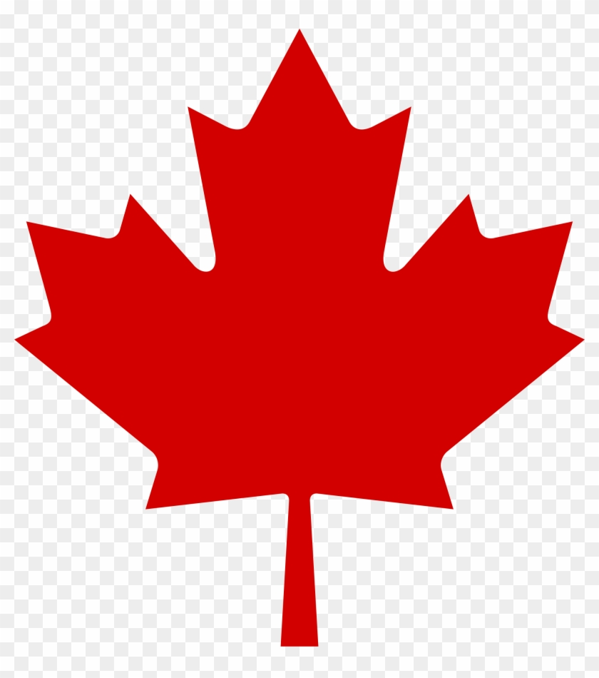 Red Maple Leaf Clipart - Canadian Flag Maple Leaf #137440
