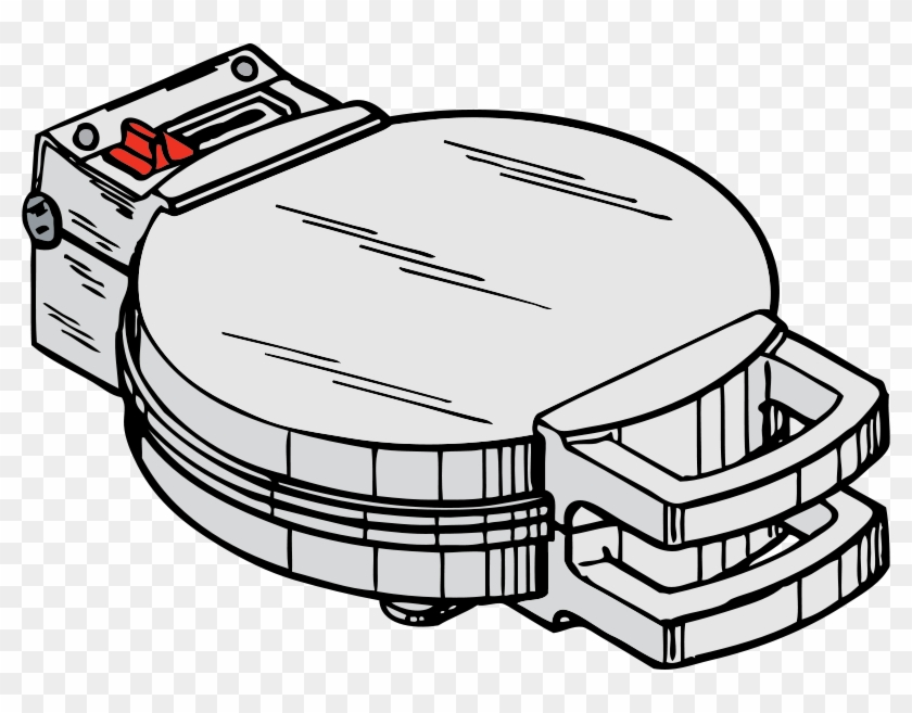 Waffle Iron Clipart #137474