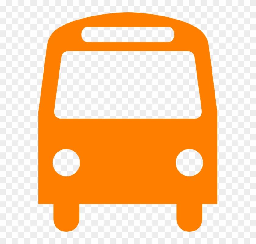 Bus Clipart Front #137479