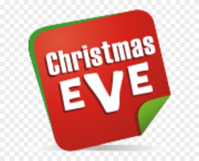 Christmas Eve Note Image - Christmas Eve Clipart #137541