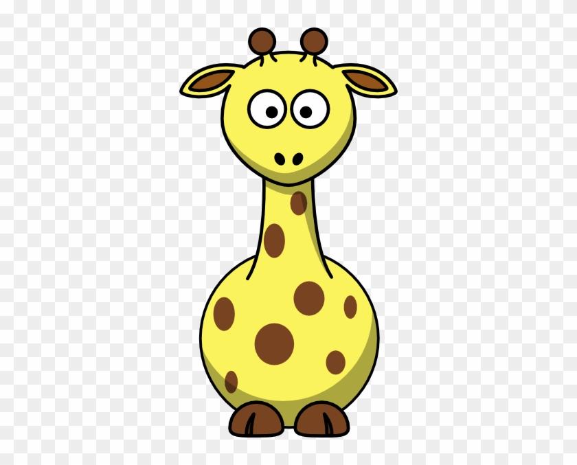 Cartoon Giraffe Clip Art - Cartoon Giraffe Clip Art #137550