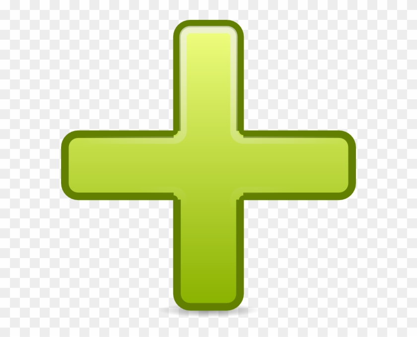 add clipart to photo all green plus sign icon free