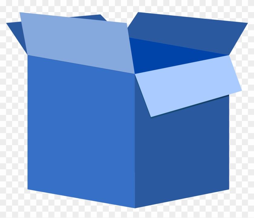 Blue Box Clipart #137799