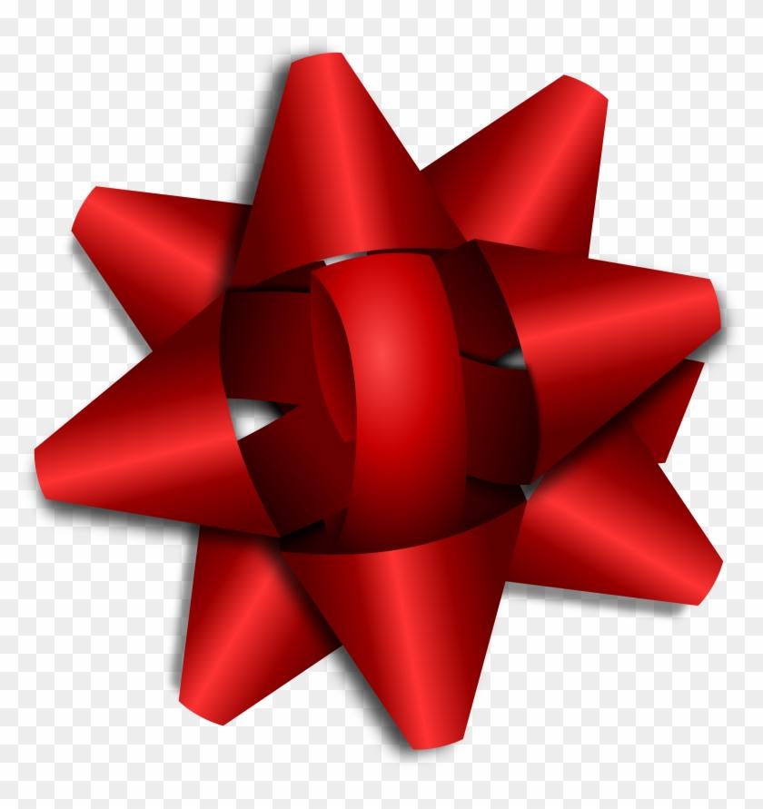 Big Image - Christmas Present Bow Clipart #137810