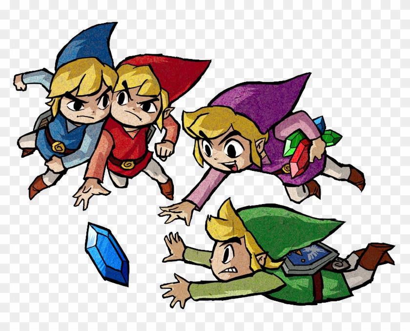 Zelda Clipart Original Link Legend - Legend Of Zelda: Four Swords Adventures #137873