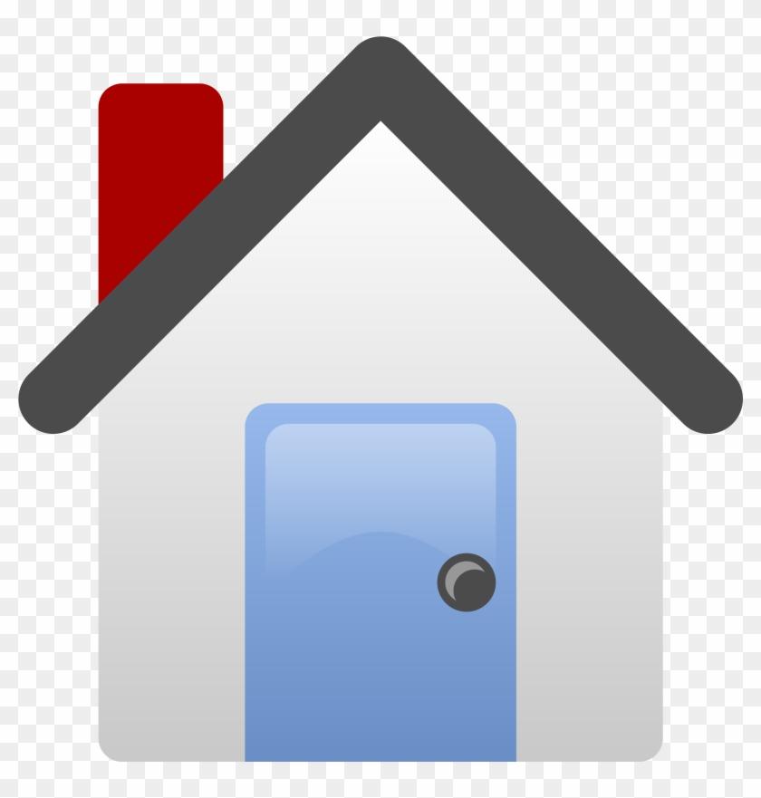 Open - House Clip Art #138117