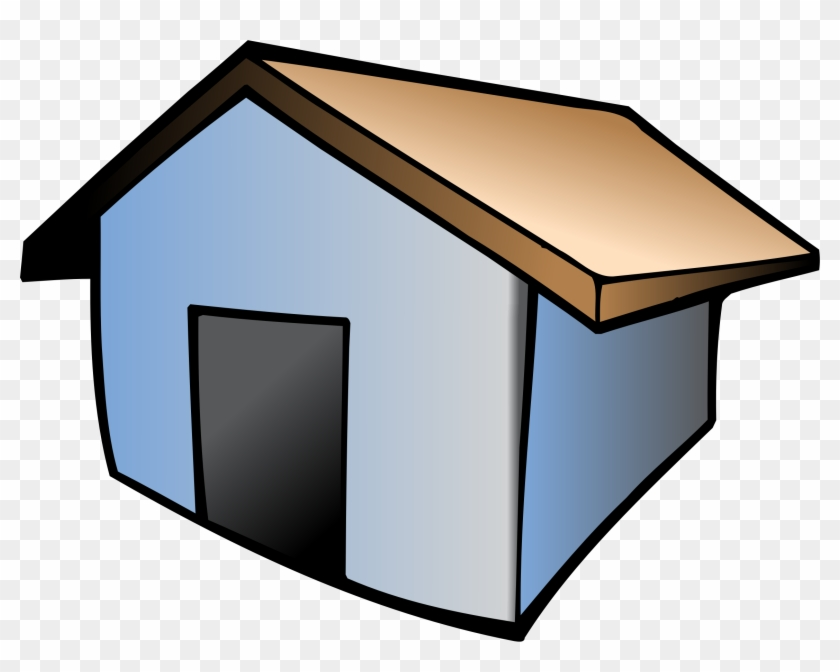 Home Icon House Architecture Estate Building - Dom Rysunek Png #138154