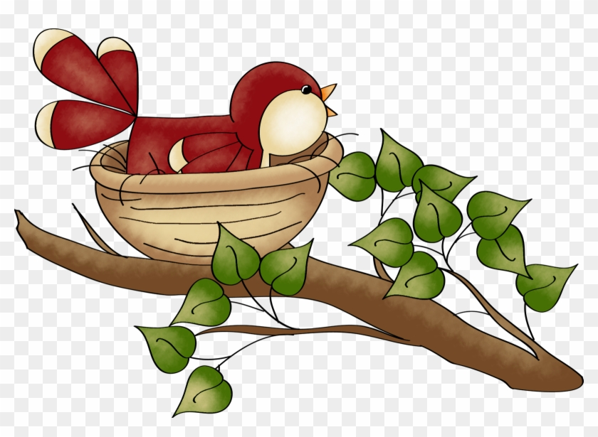 Open House At The Feathered Nest - Clip Art #138184