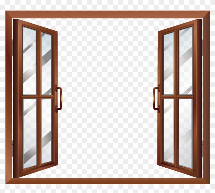 Window House Building Clip Art - Window Vector #138204