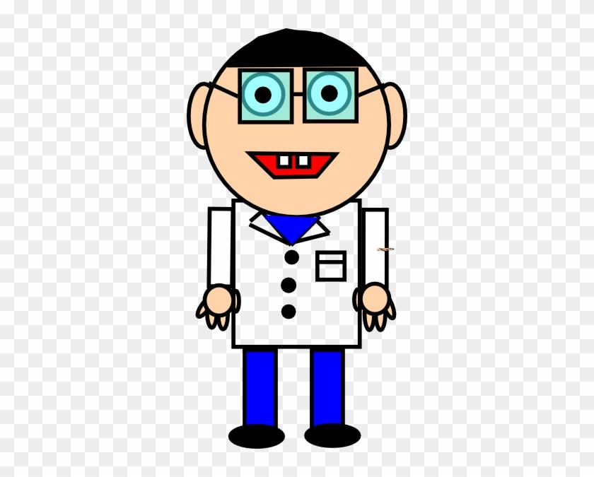 Scientist 2 Clip Art - Researcher Clip Art #138217
