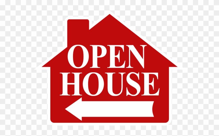 Open House - Open House Arrow Sign #138225
