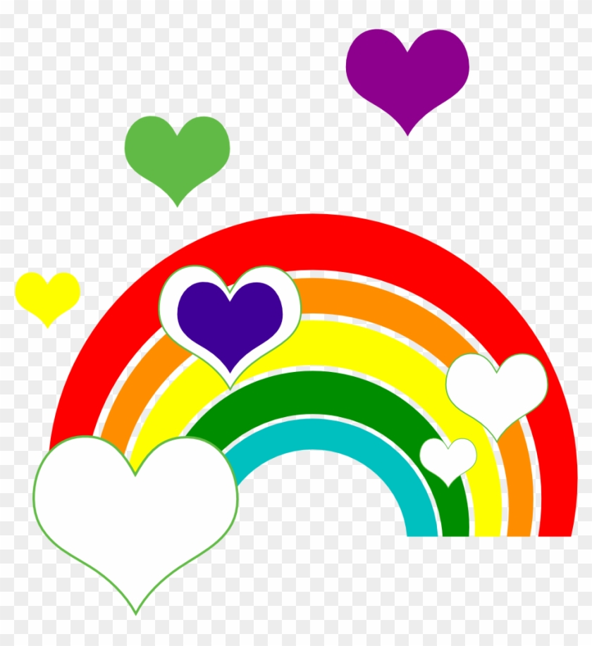Reading Rainbow Marriage Equality I Support Love Red - Clip Art #138259