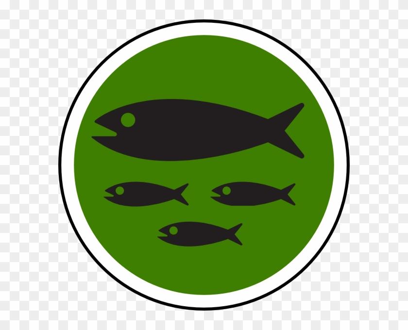 Fish Clip Art Black #138287