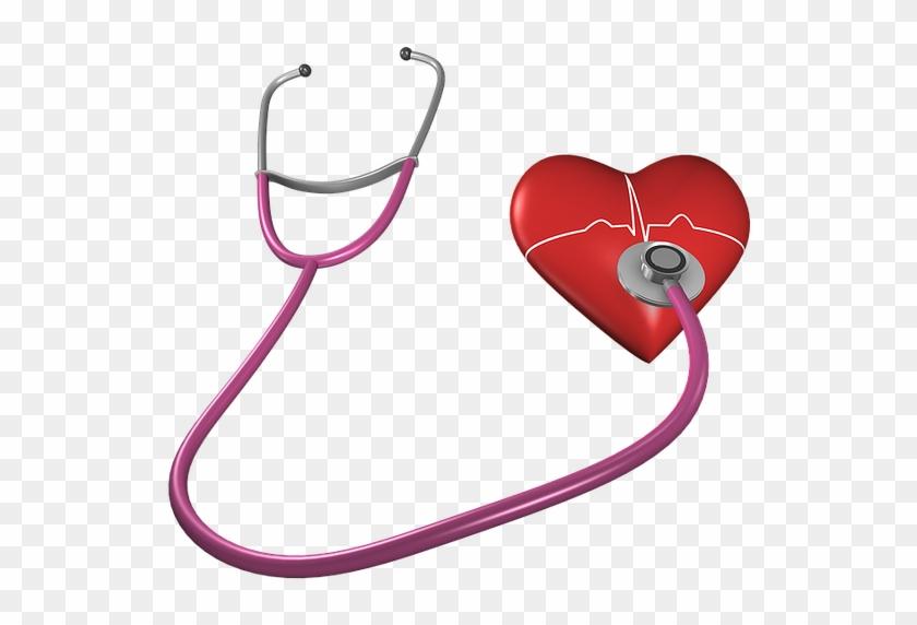 Heart, Shape, Stethoscope, Health Care, Heart Shape - Doctor Heart Logo #725992