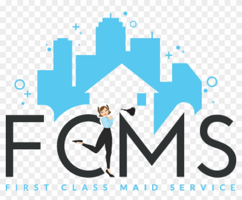 First Class Maid Service Logo - Commercial Cleaning Service Logos #726988