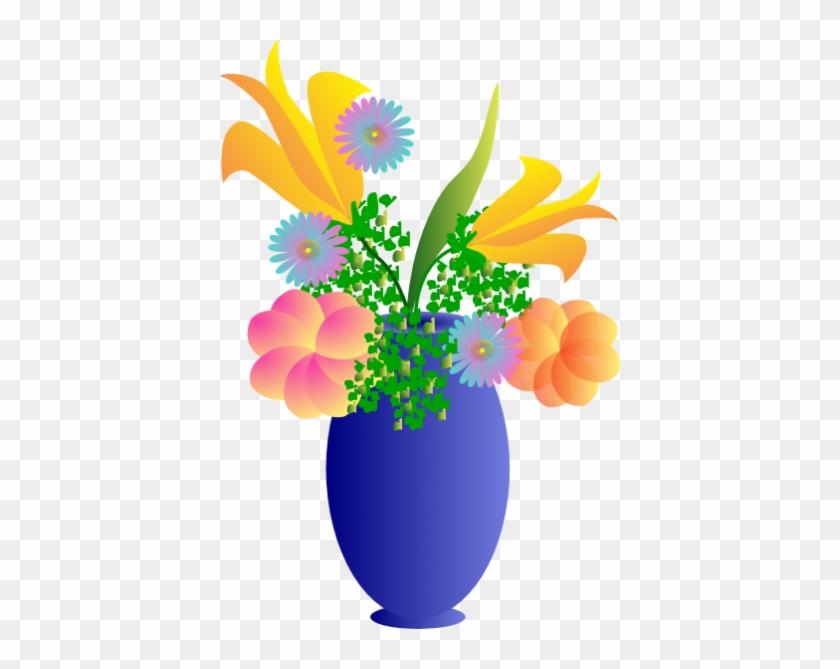 Vase Clip Art At Clker Com Vector Clip Art Online Royalty Bouquet