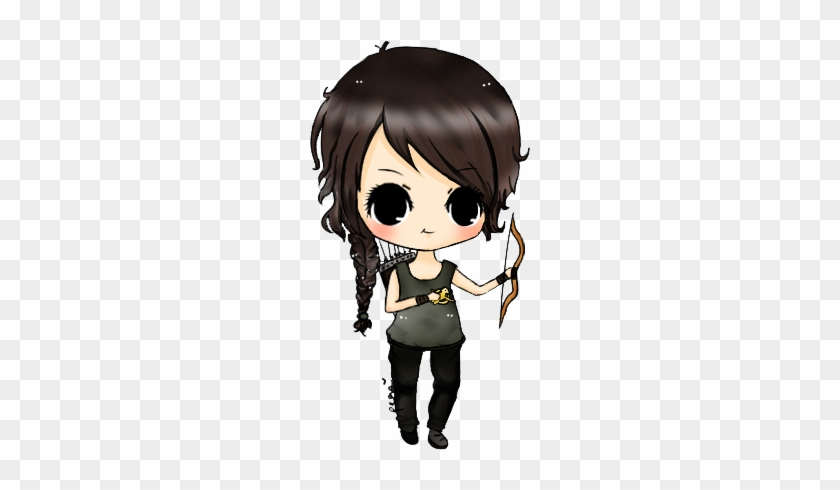 Related Categories - Katniss Chibi #727321