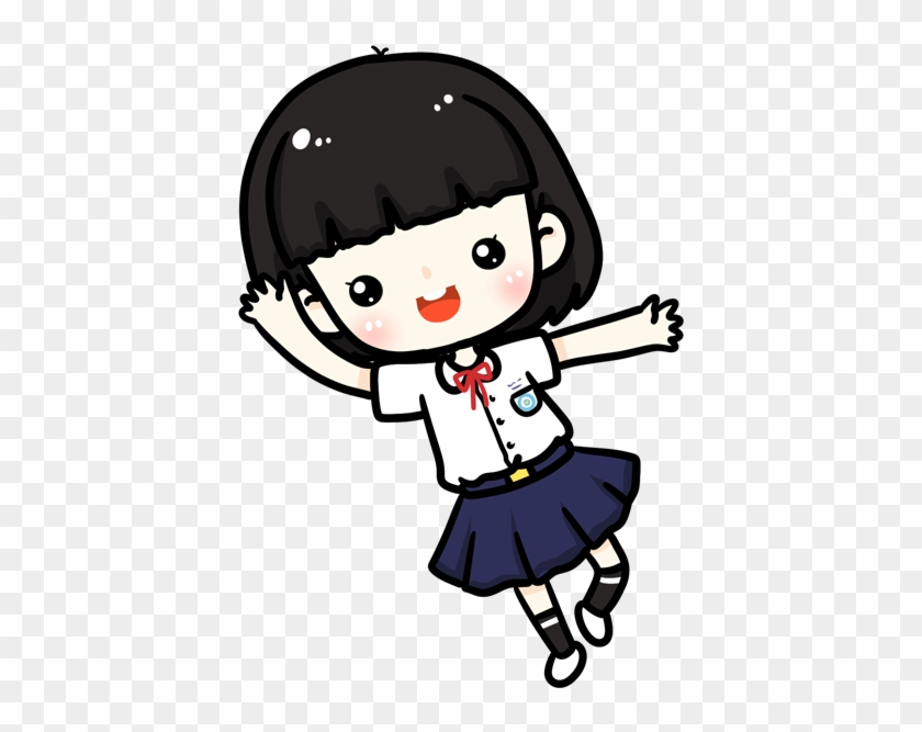Estudante Cartoon Desktop Wallpaper Q Version Cute Japanese