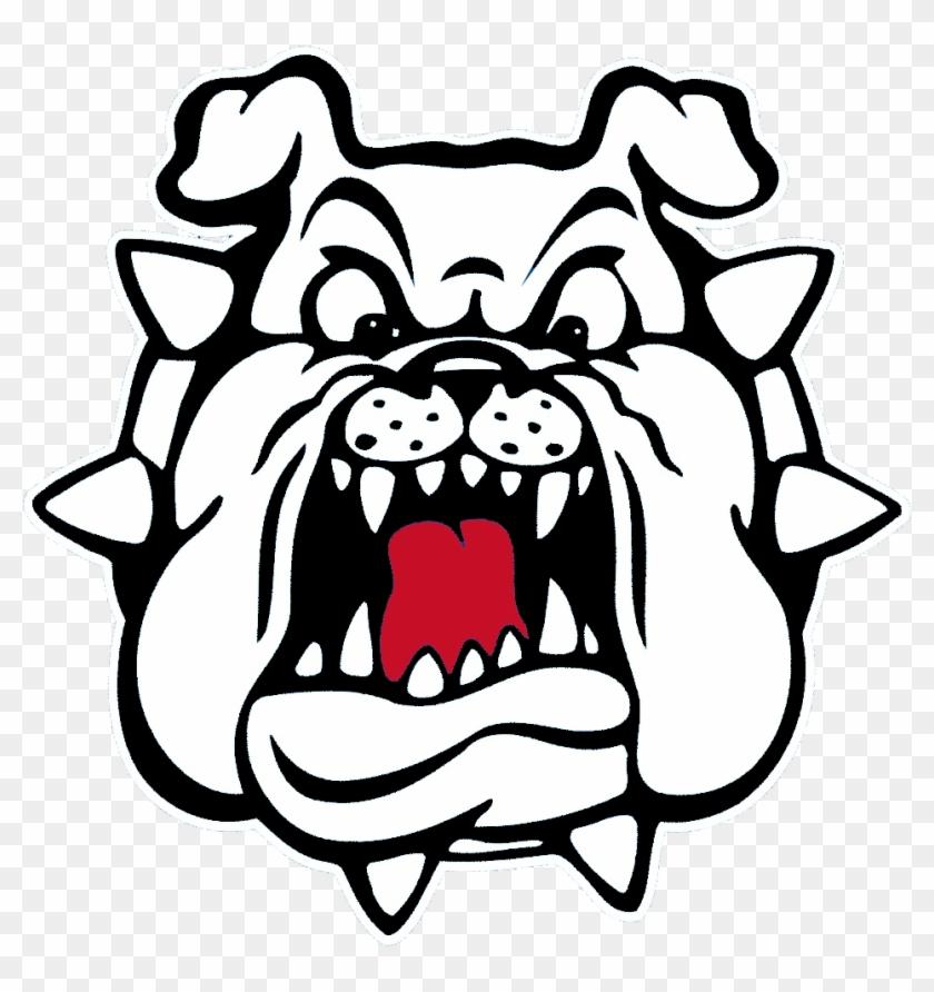 Bulldog Bull Dog Clip Art Clipart Image - Fresno State Bulldog Logo #727430