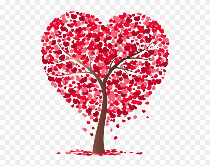 Heart Tree Transparent Png Image - Heart Full Of Love #727453