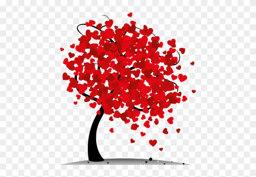 Heart Tree - Valentines Day Tree Png #727457