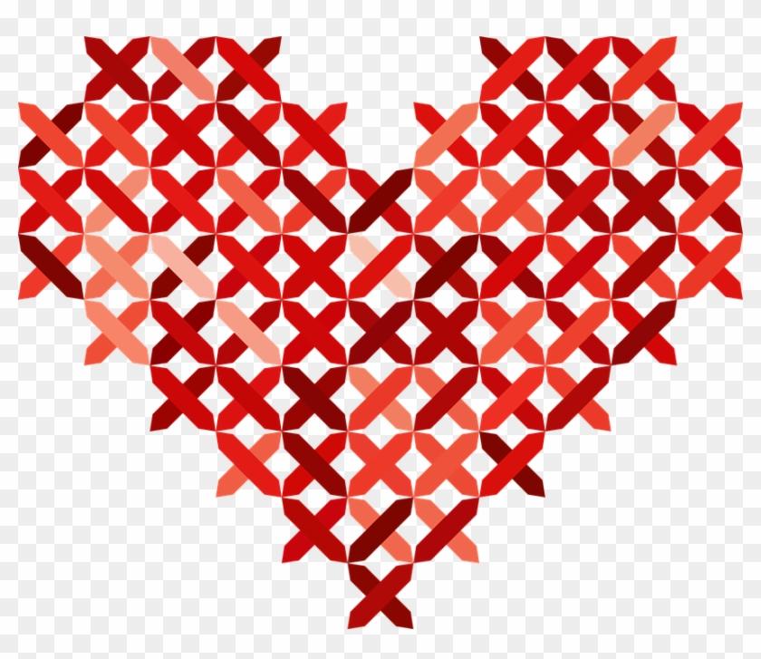 Tree Heart Cliparts 29, Buy Clip Art - Corazon Bordado #727476