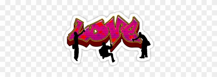 Stickers Tags - Love Graffiti Png #727671