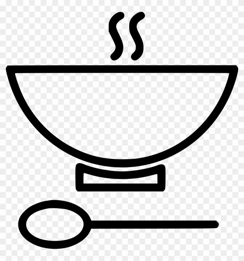 Bowl Soup Spoon Hot Comments Eradicate Extreme Poverty And