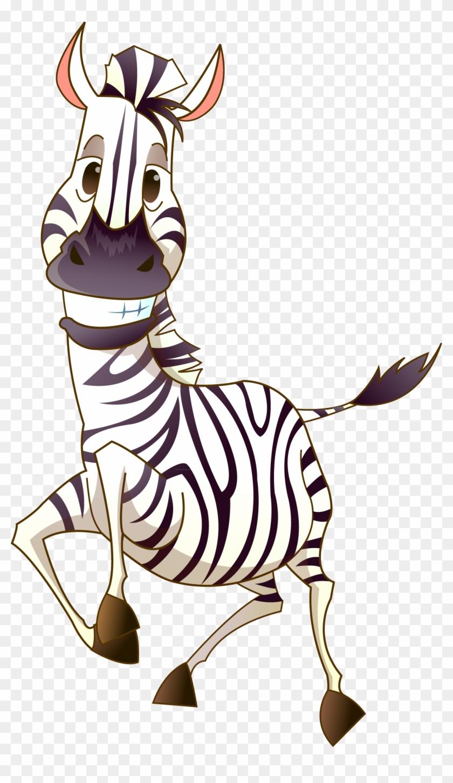 Смешная зебра в картинках