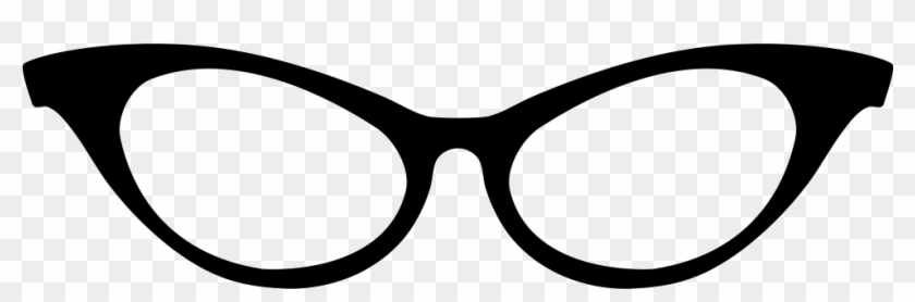 Png File Svg - Cat Eye Glasses Icon #728601
