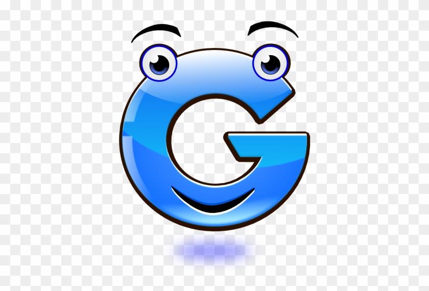 Cerca Amb Google - Letter G Smiley #728726