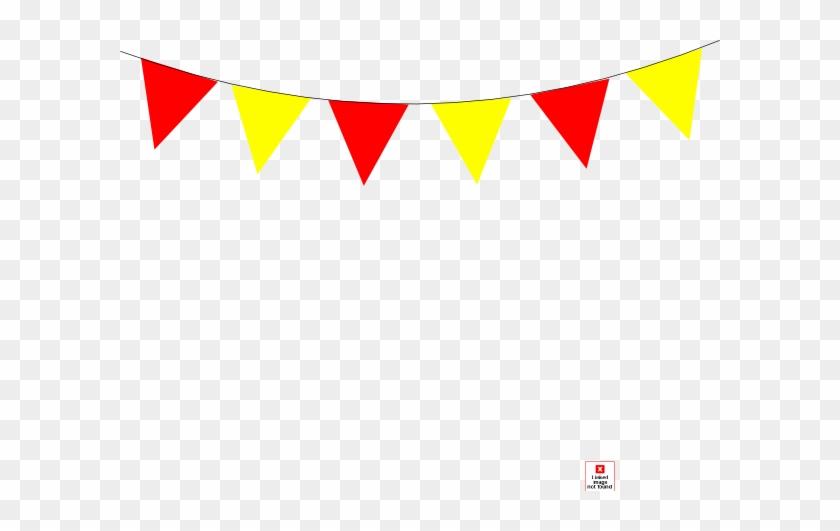 Redandyellowbanner Clip Art At Clker - Red And Yellow Banner Clipart #728830