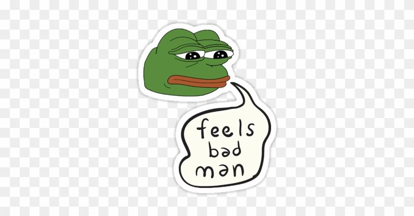 Frogs Pepe Feels Bad Man Free Transparent Png Clipart Images