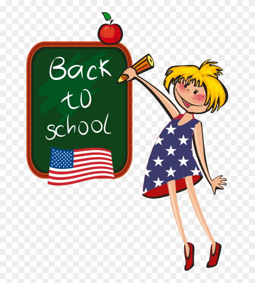 Lottie Est Dans Une École Montessori Et Est Donc Dans - Back To School Coloring Book For Kids #730581