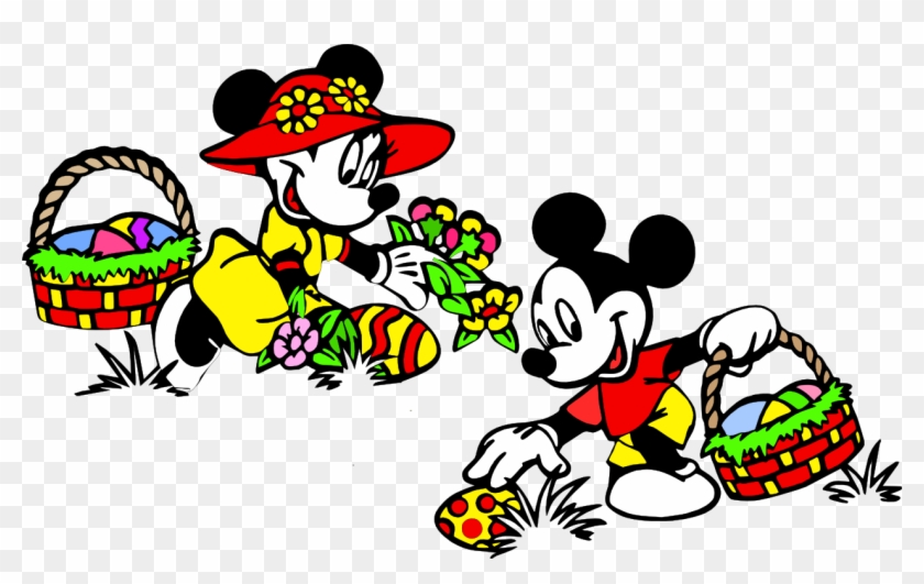 Movies Personal Use Mickey Minnie Easter Mickey Mouse Easter