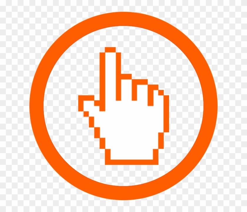 Hand Cursor Icon - Hand Cursor #731019