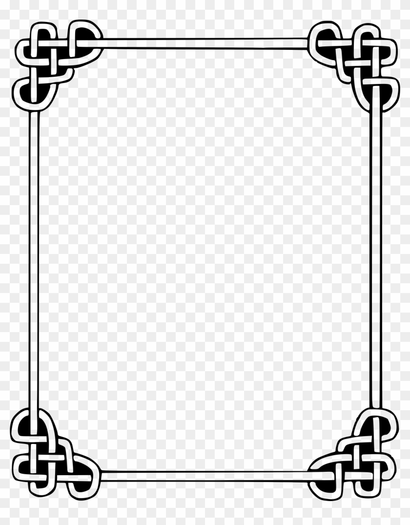 Celtic Knot Border Clip Art Car Pictures 3ywssg Clipart - Simple