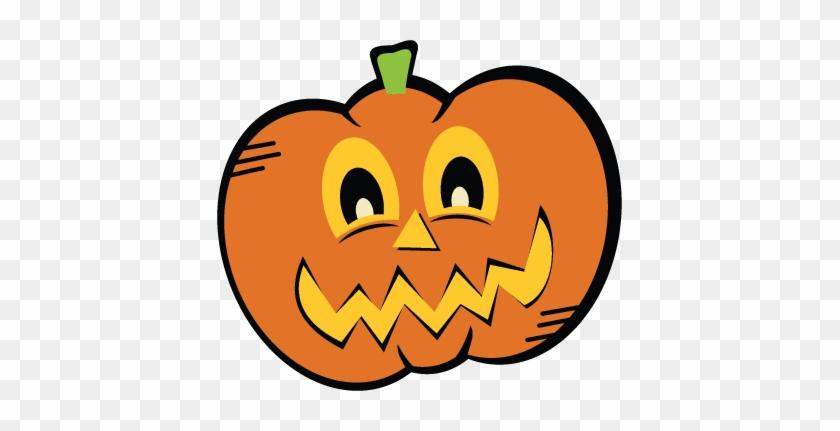 Being Cut Jack O Lantern Clipart - Cute Pumpkin No Background #731454