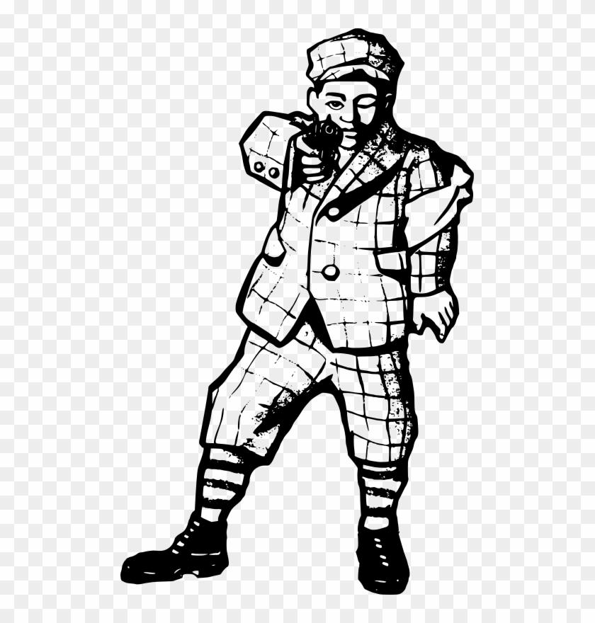 Gangster Art Clip Art