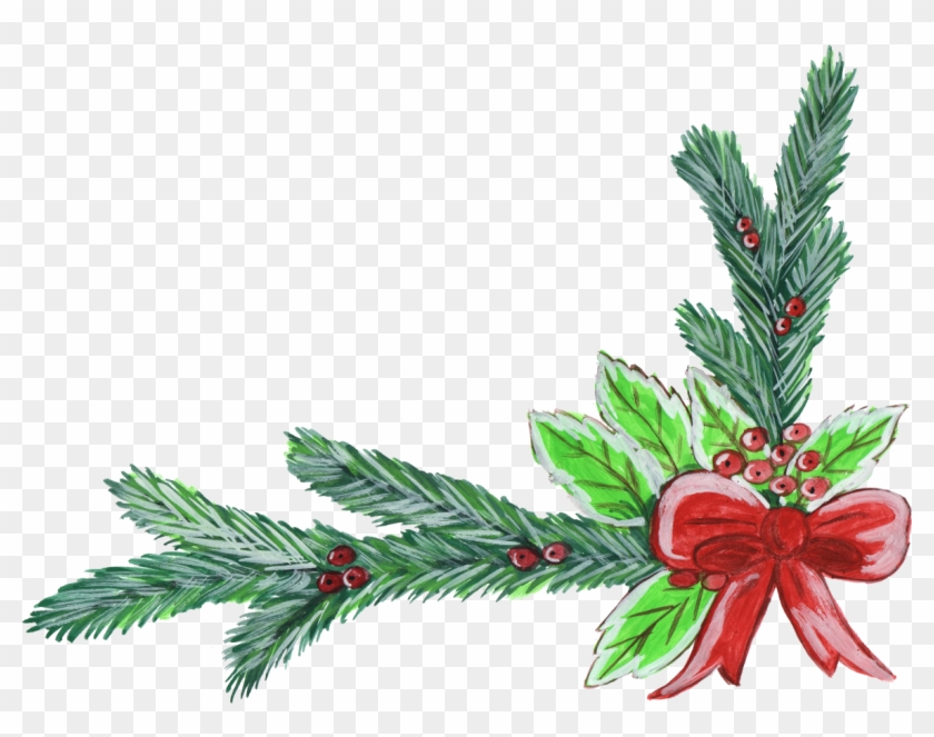 Watercolor Christmas Wreath Png.Wonderful Christmas Corner Gallery And New Year Png
