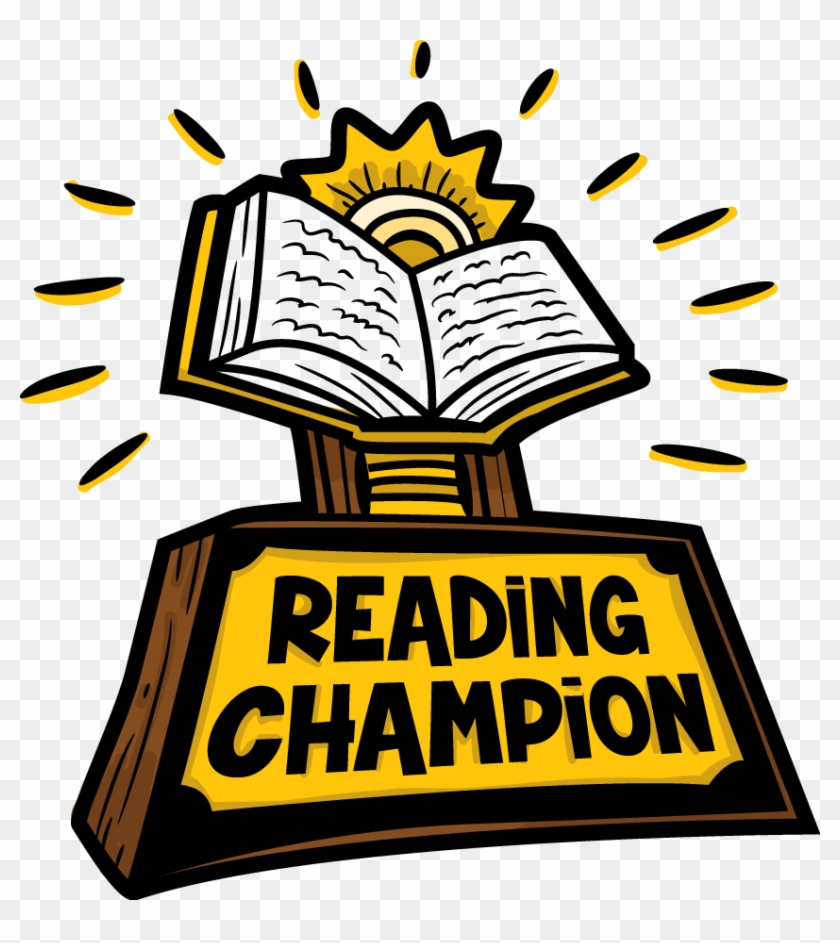 Reading Prize Cliparts - Reading Champion Clipart #732506