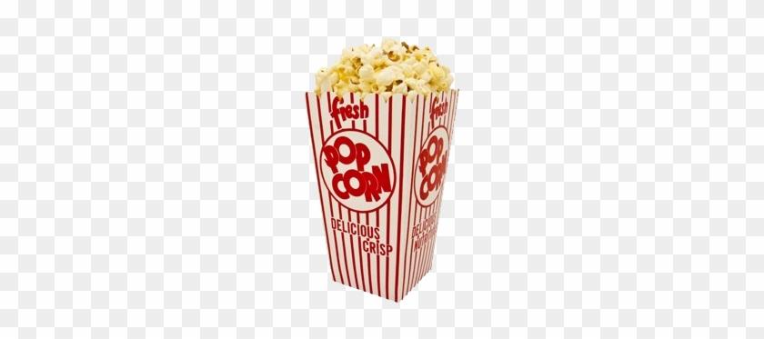 Popcorn Box Food Clip Art - Popcorn Box #732736