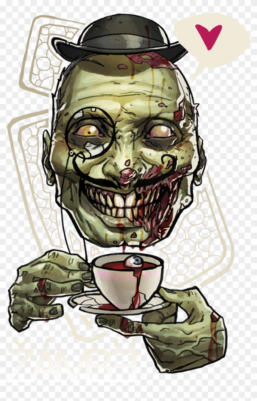 Картинки прикольные зомби, блестящие добрым утром