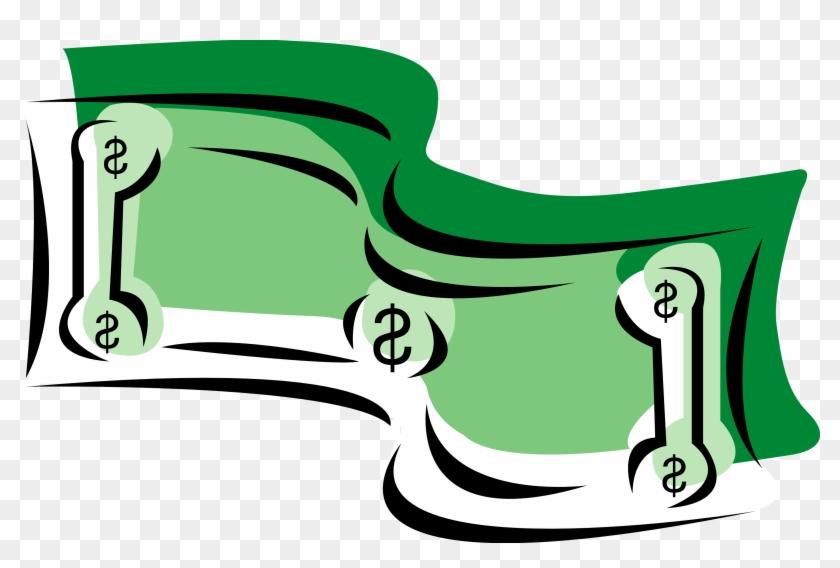 Money Clipart - Clip Art Dollar Bills #735722