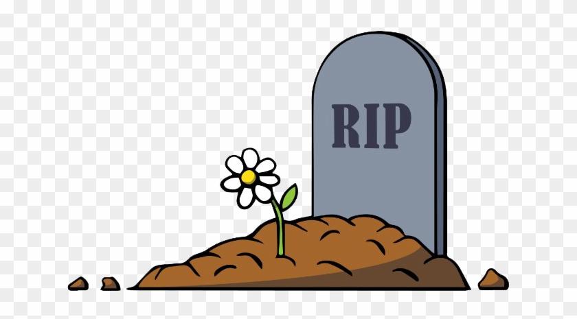 Rip Gravestone - Grave Cartoon #736240