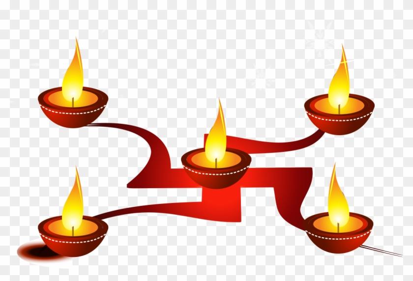 Diwali Happiness Diya Hinduism Greeting Note Cards Happy Gudi