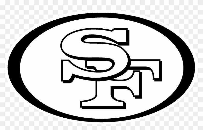 San Fransisco 49ers Logo Black And White 49 San Francisco Logo Free Transparent Png Clipart Images Download